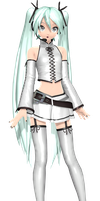 Project Diva Arcade Future Tone Aile D'Ange Miku by WeFede