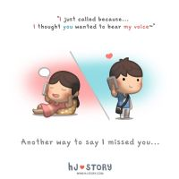Just Call to Say... by hjstory