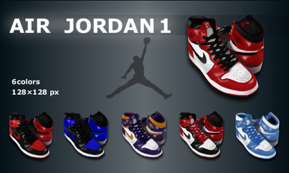 Air Jordan 1 pack by blaugrana-tez