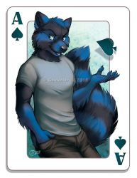 The Ace Of Spades - SpeedPaint by GoldenDruid