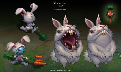 Cottontail Fizz by Yideth