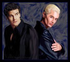 Angel and Spike by Angel-fan-club