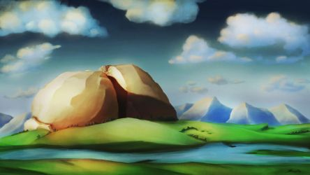 Sundered Rock by SolaceBe