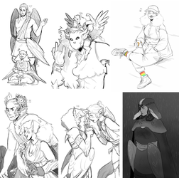 Enaders SketchDump by Blublen
