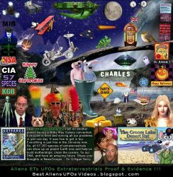 Sir Gilligan Horry UFO Postcards Aliens UFOs Proof by Sir-Gilligan-Horry