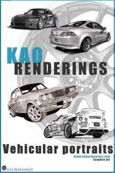 Kao Rendering poster by david10072