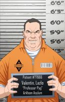 Lazlo Valentin locked up by phil-cho