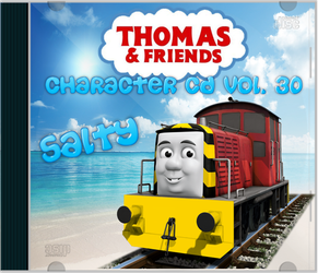Thomas and Friends  Character CD Vol 30 Salty by Galaxy-Afro