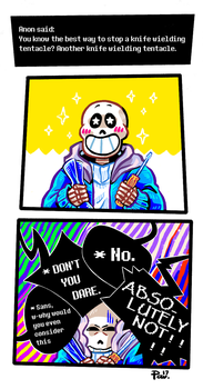 Undertale ask blog: another one by JimPAVLICA