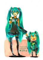 mikumiku by chobble