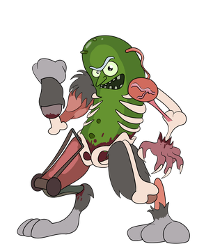 It's Pickle Rick!!! by The1stMoyatia