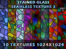 Stained glass seamless texture 3 by jojo-ojoj