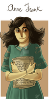 Anne Frank by ToscaSam