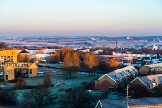 My view (on a frosty February morning) by atomkat