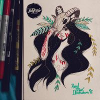 Day 1 - Inktober 2015 by Misspingu
