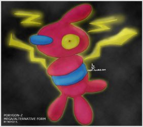 Mega/Alternative Porygon-Z by Noyle