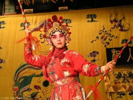 Beijing Opera by MaryKwizness