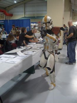Clone Trooper MonsterCon 2008 by MichaelWKellarINKS