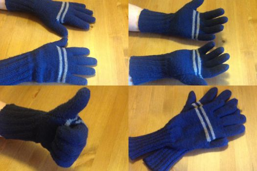 Knitted Men's Finger gloves by Enira