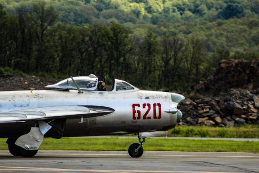 Bidding Farewell, MIG-15PF by BTedge116