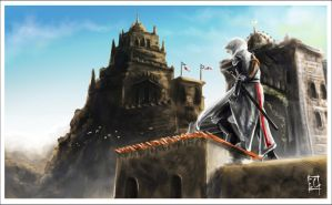 Walk like Altair by ElConsigliere