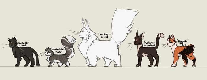 Leader Lineup by IIobotomutt