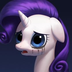 Rarity crying by Agavoides