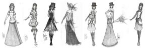 Victorian Gothic Collection by Luai-lashire