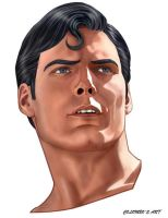 CHRISTOPHER REEVE by supersebas