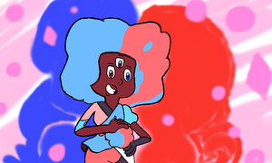Cotton Candy Love Garnet by IncineratorCEO