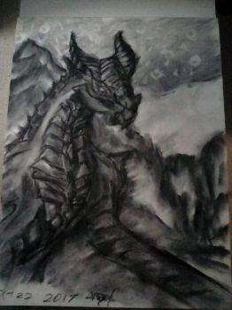 charcoal Paarthanax by 0AngelBeast0