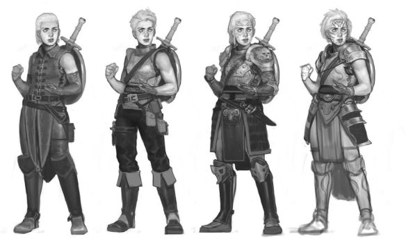 Fighter Iterations by luminousboy