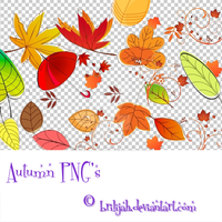 Autumn PNG's by Brilijah