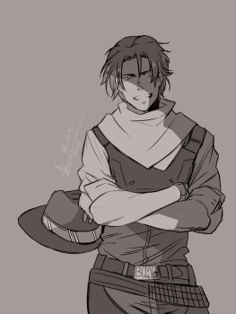 Overwatch - Young Mccree 2 by ABD-illustrates