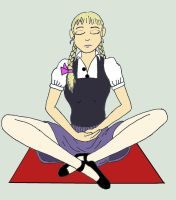 Melian Meditating By Melianofmist by Magictron3000