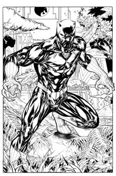 Black Panther - King of Wakanda by SpiderGuile