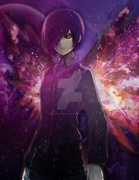 Touka the angel ghoul by Personaminato