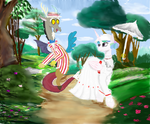 Holly Jolly Day With celestia by mr100dragon100