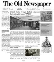 Mockup 'The Old Newspaper' v2 by lysergicstudio