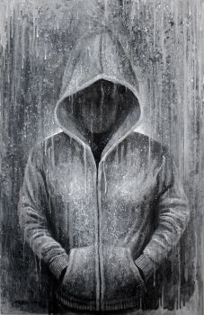 Grey hoodie  2017 by MateoGraph