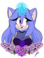 Lila the hedgehog by jellyBELLYfish