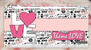 Theme for Google Chrome LOVE by oOILOVESONGOo