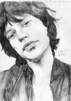 Mick Jagger by Oleyan