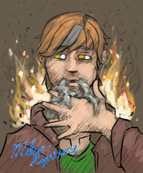 Smoke and Eyes [quickie] by Mike-Ryuluce