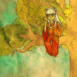 Inuyasha's Apple by MagicalyMade