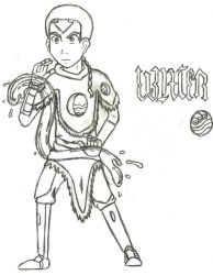 Avatar Aang-Water by quidditchchick004