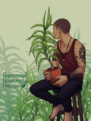 Plants and Tattoos by spider999now