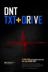 DNT TXT and DRIVE by mvgraphics