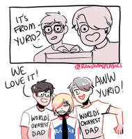 YOI: WORLD'S OKAYEST DADS... by Randomsplashes