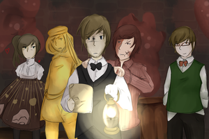 Pewdie's Cast by TheAwesome-Kori